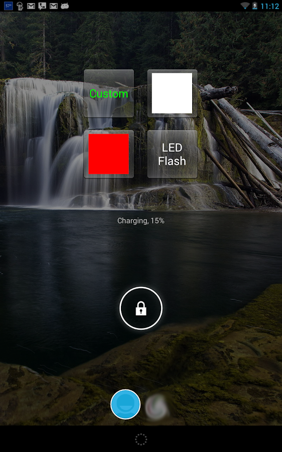 TouchLight - Free Flashlight- screenshot