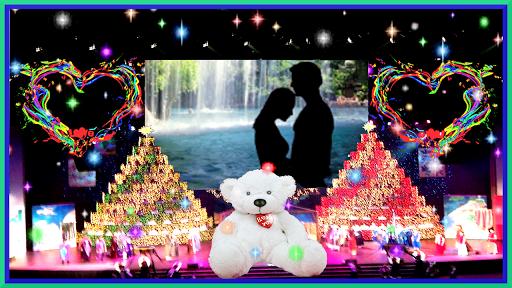 ビルボードの愛のフレーム写真