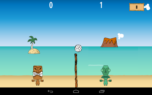 Tikiball - beach volleyball