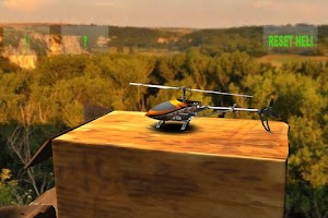Screenshot of RC Helicopter Simulation
