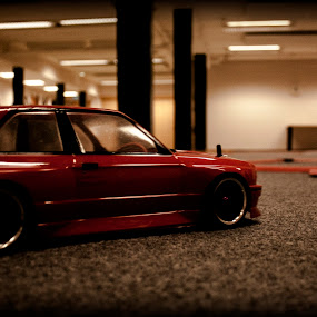 RC Drifting - BMW M3 e30 by Aleksander Hansen - Transportation Automobiles ( e30, car, indoor, drifting, driving, bmw, remote controlled, m3, drift, rc )