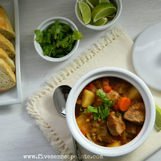 Pork & Tomatillo Stew