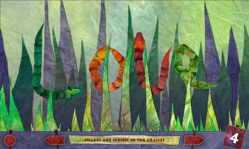 Mabell's Zoo: Multi-touch Book- screenshot