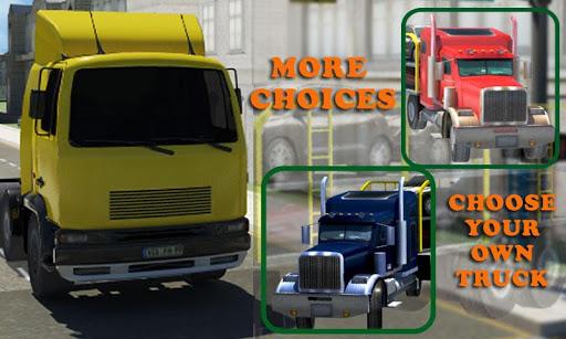 자동차 수송 트럭 운전사