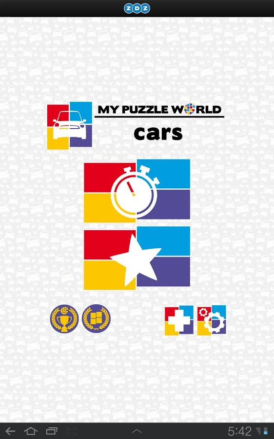 Cars Puzzle – MPW- screenshot
