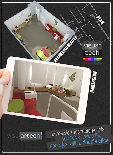 【免費生產應用App】Visuartech Augmented Reality-APP點子