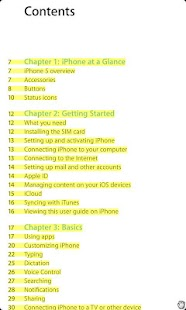iPhone 5 User Manual - screenshot thumbnail