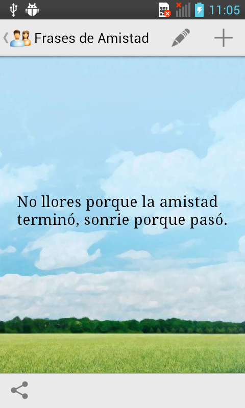 Frases de Amistad - screenshot