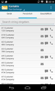 MobiMail für Outlook E-Mail – Miniaturansicht des Screenshots