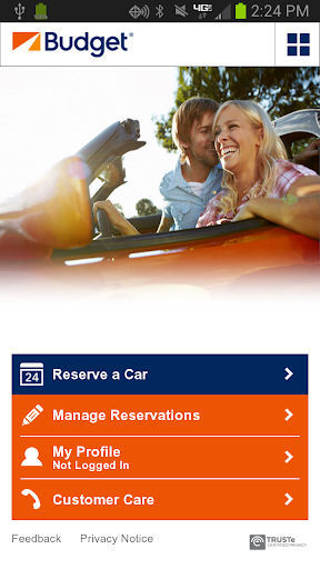 United States Car Rentals and car rental deals at Budget.com