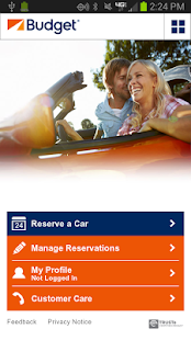 Budget Car Rental - screenshot thumbnail