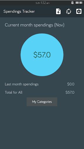 Spendings Tracker