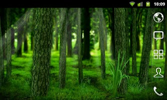 Screenshot of RealDepth Forest LWP