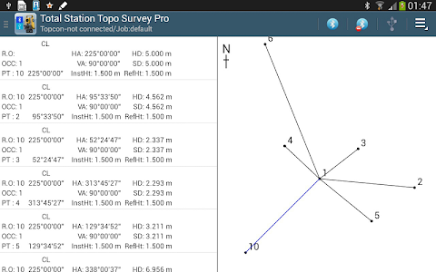 Total Station Topo Survey Pro screenshot 8