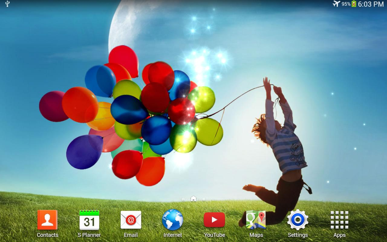 Galaxy S4 Live Wallpaper - screenshot