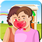 Kissing Game-Homely Couple Fun icon