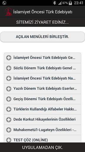 İslamiyet Öncesi Edebiyat