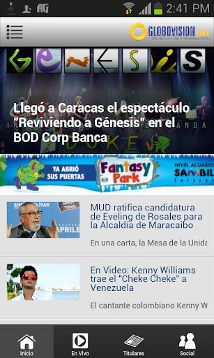 Globovisión móvil