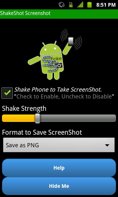 Screenshot No Root Shakeshot - screenshot