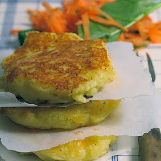 Potato and Raclette Galettes for a Nice Dinner.