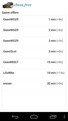 Chess Free (Offline/Online) 3.1 screenshots 5