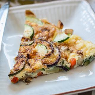 Potato & Zucchini Frittata