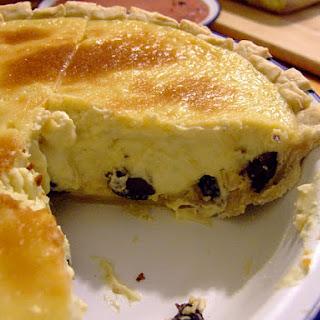 Rum Raisin Pie