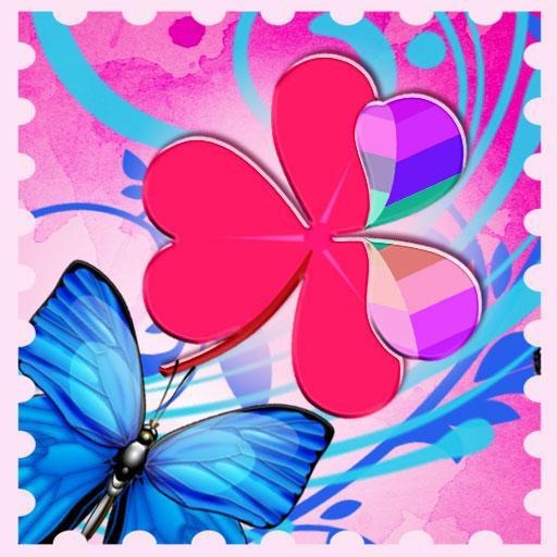 GO桌面主題蝴蝶 個人化 App LOGO-APP試玩