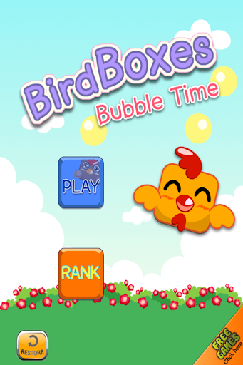 Bird Boxes - Bubble Time