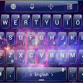 Theme TouchPal Glass Space