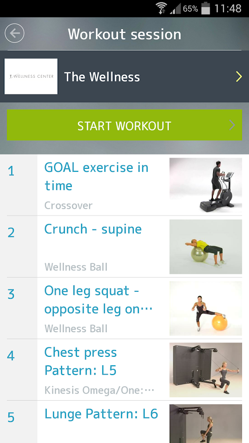 mywellness- screenshot