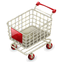 Shopping – mobile logo