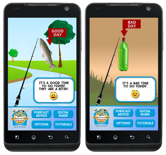 Fishing app barometric fishing android apps on google play for Best fishing game app