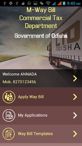 Odisha m-waybill