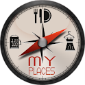My Places logo