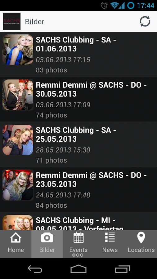 SACHS Bochum - screenshot
