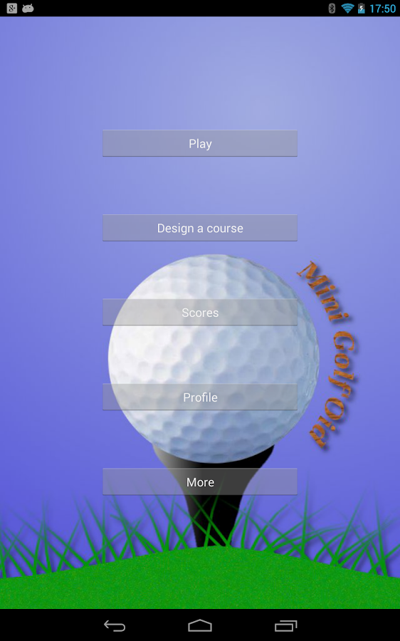 Mini Golf'Oid Free - screenshot