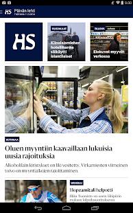 Helsingin Sanomat - screenshot thumbnail