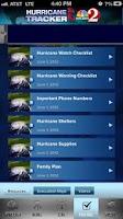 Screenshot of Hurricane Tracker WESH 2