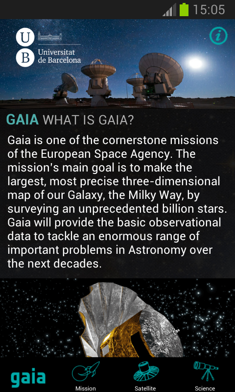 Gaia Mission- screenshot
