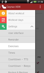 Abs workout - screenshot thumbnail
