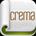 크레마 (crema) - 책의 향기를 담다. icon