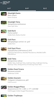 Tropical Fish Guide Pocket Ed.- screenshot thumbnail