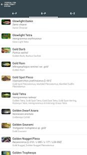 Tropical Fish Guide Pocket Ed. - screenshot thumbnail