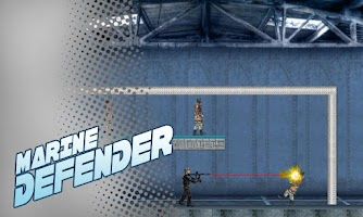 Screenshot of Marine Defender