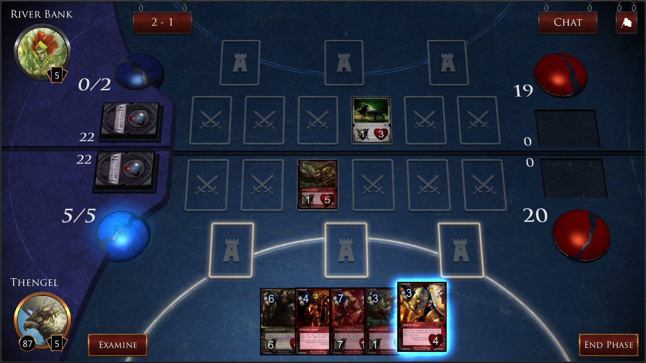 Forgotten Myths CCG - screenshot