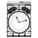 Just wake me up (alarm clock) icon