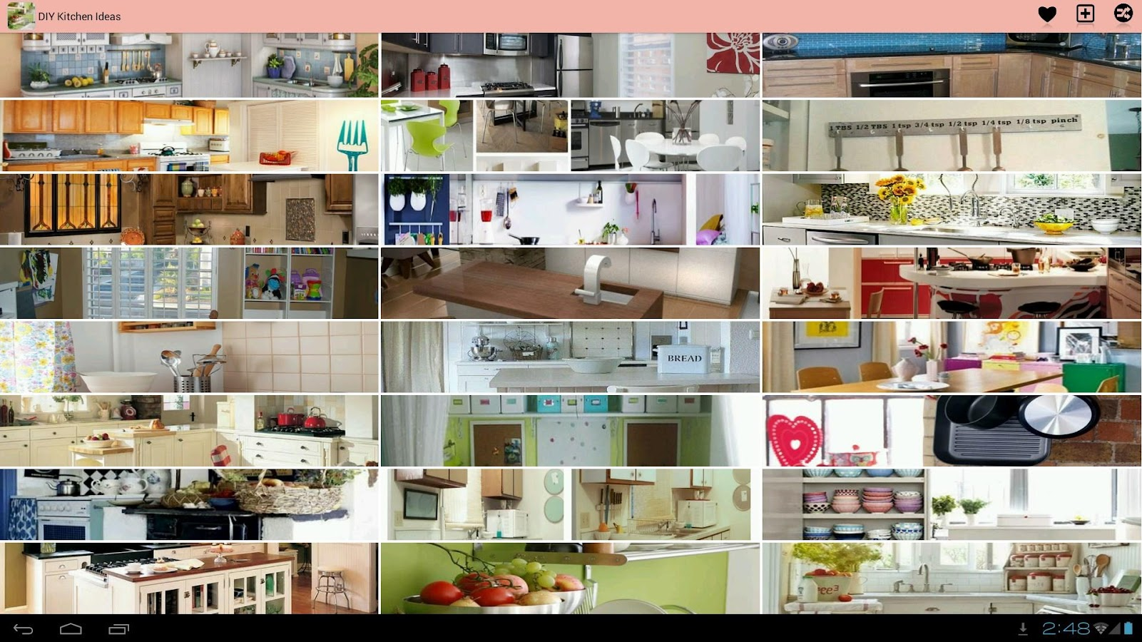 Diy kitchen ideas android apps on google play for Kitchen ideas app
