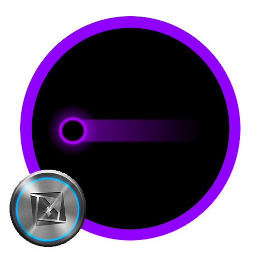 TSF Shell Pendant Holo Purple LOGO-APP點子