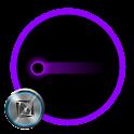 TSF Shell Pendant Holo Purple icon